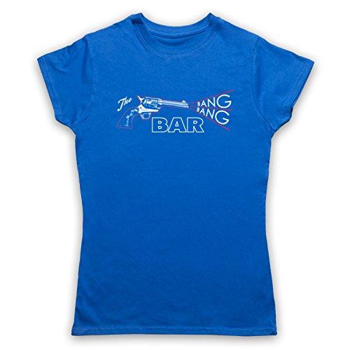 Twin Peaks The Bang Bang Bar Camiseta para Mujer Azul Real