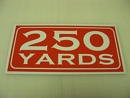 (250 YARDS Metal Sign Golf Course Yardage Marker Green Country Club Driving Range)
