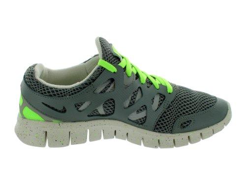 Nike Vrouwen Free Run 2 Ext Loopschoenen Kwik Grijs / Moon Grijs-flash Lime
