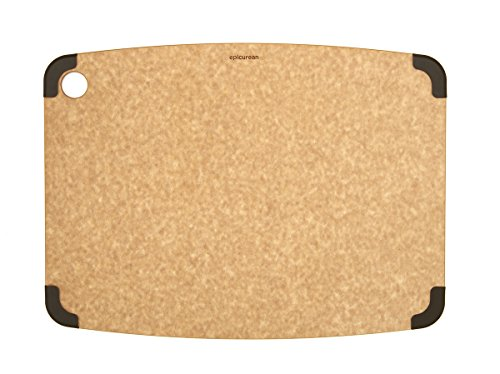 (Epicurean Non-Slip Series Cutting Board, 17.5-Inch by 13-Inch, Natural/Brown (202-18130102))