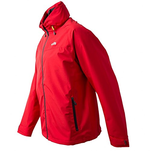 Gill Pilot Inshore Sailing Jacket - Red XS