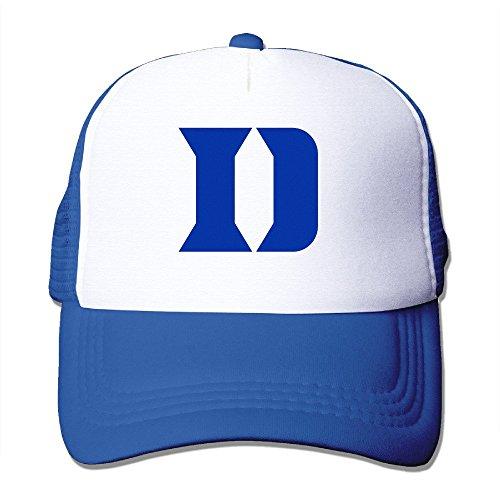 Duke Blue Devils Trucker Hat Male/female Baseball Caps Adjustable Snapback One Size RoyalBlue