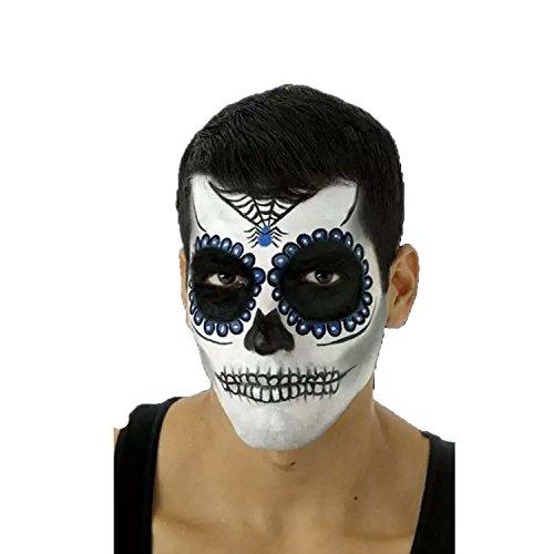 Cinema Secrets Day of The Dead Complete Makeup Kit - Blue -
