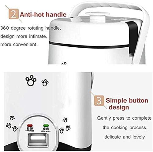 1.2L Mini Electric rijstkoker, (200 W / 220 V) Multi-Cooker kleine Cooki Machine eieren Vaporizer Stew Soup Hot Box - Rice for maximaal 3 personen zhihao