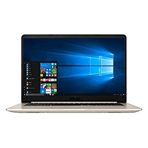 ASUS VivoBook S15 S510UN Intel Core i7 8th Gen 15.6-inch FHD Thin & Light Laptop (8GB RAM/1TB HDD/Windows 10/2GB NVIDIA GeForce MX150 Graphics/Gold/1.70 Kg), S510UN-BQ052T