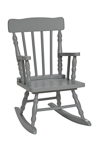 Harriet Bee Gray Rocking Chair
