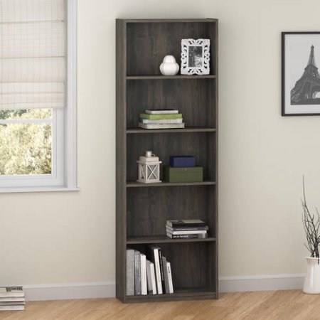 Ameriwood 5-Shelf Bookcase, Decorative b - Revolving Kids Bookcase Shopping Results
