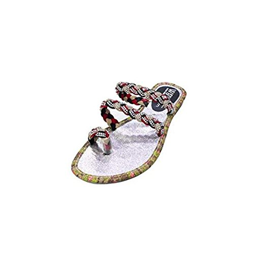 Slip Walk Evening Womens On Silver Multy Wear Sandals Holiday UK amp; Fashion Sandals wqg5RYHR