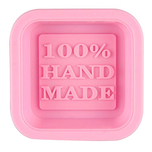 Binmer(TM)Cute Craft Art Square Silicone Oven Handmade Soap Molds DIY Soap Mold