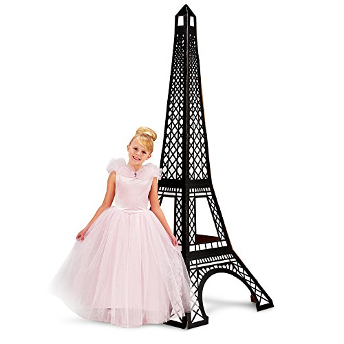 BirthdayExpress Paris Eiffel Tower Party Supplies Damask Decoration Eiffel Tower Standup -