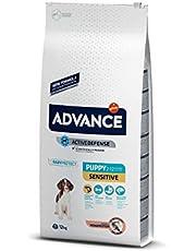 Advance Somon Ve Pirinçli Hassas Yavru Köpek Maması, 12 Kg