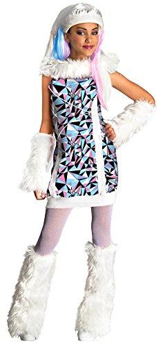 Kids-Costume Monster High Abbey Bominable Child Costume Lg Halloween Costume ()