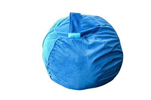 Surprising Xl Stuffed Animal Storage Bean Bag Chair For Kids Stuff Organize Plush Toy Animals 27 Inc Uwap Interior Chair Design Uwaporg