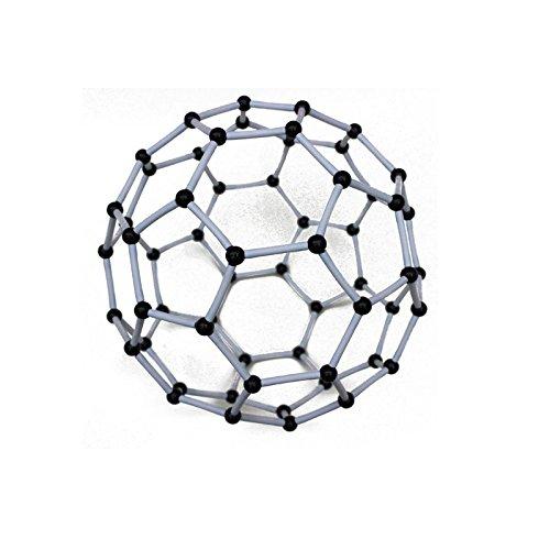 celendi los estudiantes, profesores Young científicos química científico carbono 60°C60Atom Modelo Molecular Enlaces...