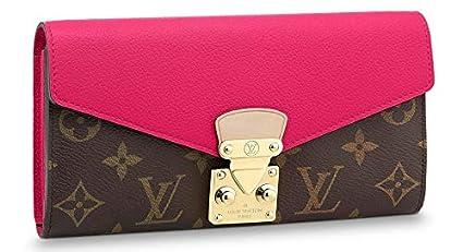 Louis Vuitton Monogram lienzo Pallas Wallet m56241 UVA ...