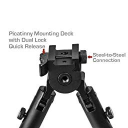 Lion Gears Scout-pod Tactical Pro Bipod, 7.3\