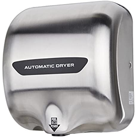 1800W Automatic Hand Dryer W Sensor Stainless Steel Commercial Bathroom