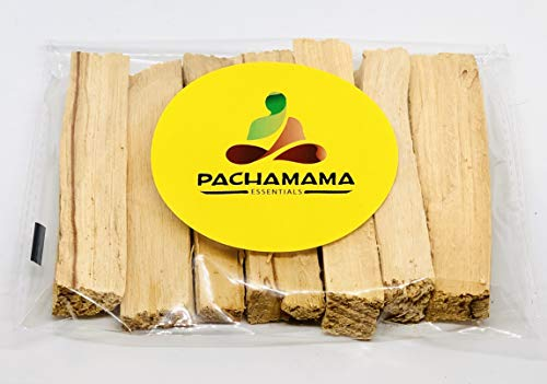 (Pachamama Essentials Premium Palo Santo Holy Wood Incense Sticks from Peru, for Purifying, Cleansing, Healing, Meditating, Stress Relief. 100% Natural and Sustainable, Wild Harvested. (6))