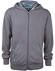 Jinx Minecraft Big Boys' Diamond Premium Hoodie
