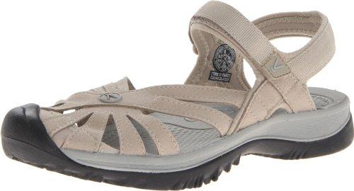 KEEN Women's Rose Sandal,Aluminium/Neutral Gray,10 M US