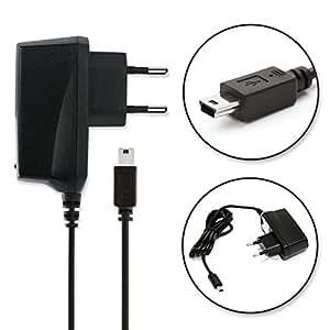 subtel® Cargador - 1.4m () para Creative Zen Micro / Zen Microphoto / Zen V / Zen Wav / Zen X-Fi / Zen Mozaic ( / ) Cable de carga negro