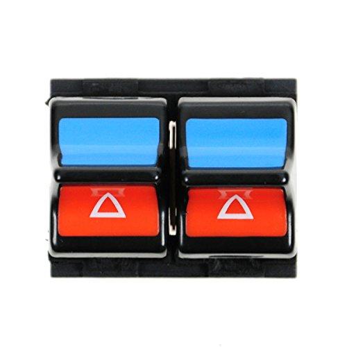 2 Button Power Window Master Switch Driver Side Left LH for 86-97 Ford Aerostar (Ford Aerostar Power Window)