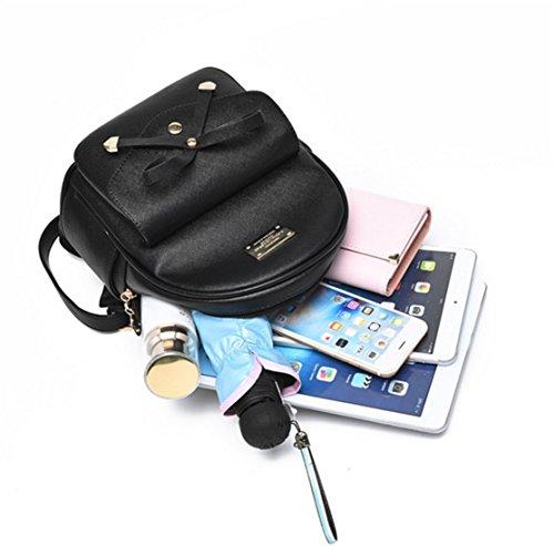 Purse Satchel Leather Cute Backpack Shoulder Crossbody Women Handbags Nodykka Tote Mini Rose Bag YxSqwvB48