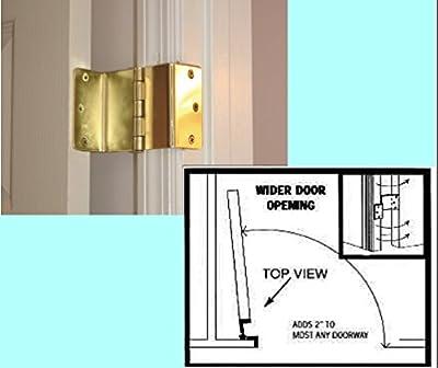 Brass Expandable Door Hinge