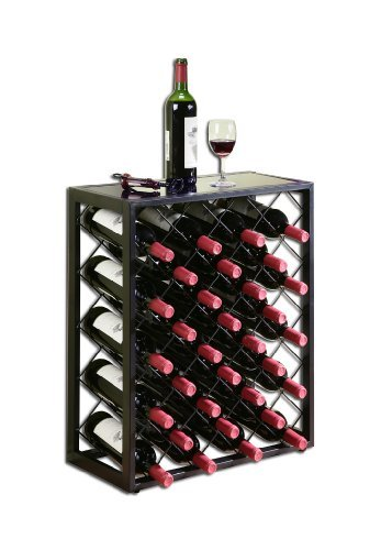 Wine-Rack-with-Glass-Table-Top