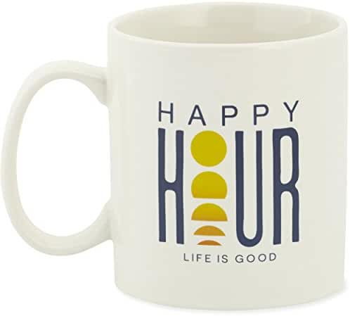 Life is good Adult Jakes Happy Hour Sunset Mug