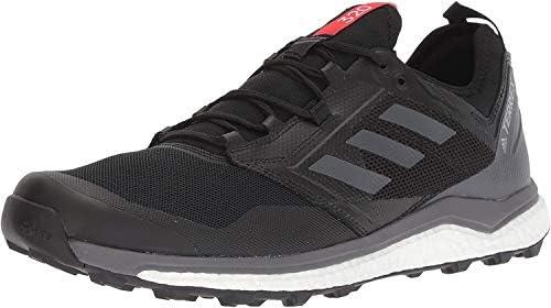 adidas outdoor Terrex Agravic XT Shoe - Men\'s Black/Grey Five/Hi-Res Red 6