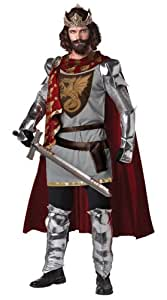Mens - Disfraz de caballero medieval para hombre, talla XL (213105)