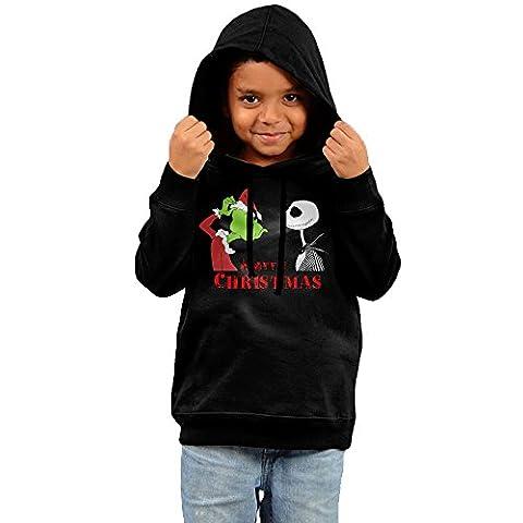 MJKJ Kid's A Nightmas Berore Christmas Unisex Hoodies Black Size 4 Toddler (Digimon Lost Evolution)