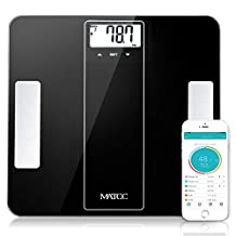 Bluetooth Body Fat Scale MATCC Smart Digital Wireless Weight Bathroom Scale with iOS and Android APP Body Composition Analyzer Health Monitor 400 lbs Capacity