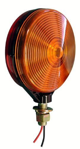 Peterson Manufacturing 313-2RA Red/Amber Double-Face Park and Turn Signal Light