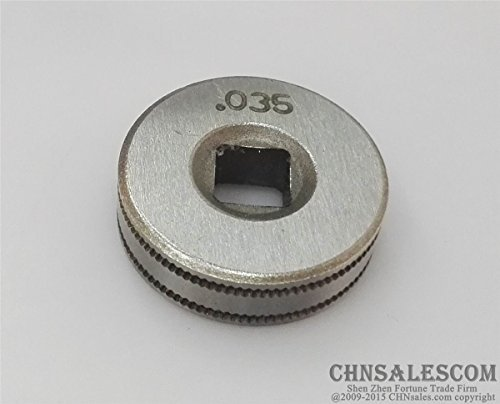 CHNsalescom Mig Welder Wire Feed Drive Roller Roll Parts 0.8-0.9 Kunrled-Groove .030 (Welder Mig Chicago Electric)