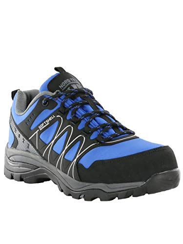 - Nord Trail Mens Hood Low Royal Blue Size 8.5 ASTM Certified Composite Toe Work Shoes (NT Work)
