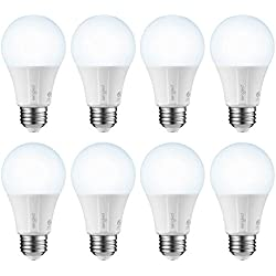 Sengled Smart LED Daylight A19 Bulb, Hub Required, 5000K 60W Equivalent, Works with Alexa, Google Assistant & SmartThings, 8 Pack