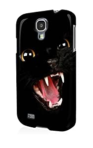 S40577 Bad cat kitty Glossy Case Cover For Samsung Galaxy S4 by mcsharks