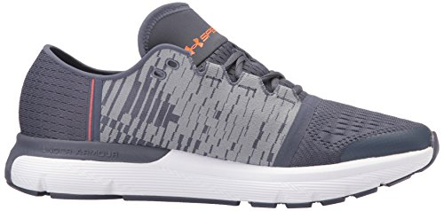 Gray Sneaker Under magma Ua Gr 1298535 Speedform Gemini steel Armour Apollo Orange 400 Uomo 3 PHBwHS4Uqx