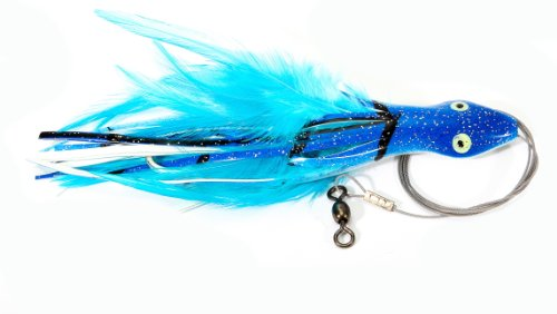 DOLPHIN RIG 7/0 WIRE RIGGED,BLUE MACK,6 1/2