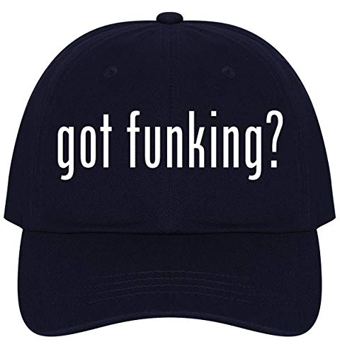 The Town Butler got Funking? - A Nice Comfortable Adjustable Dad Hat Cap, Navy