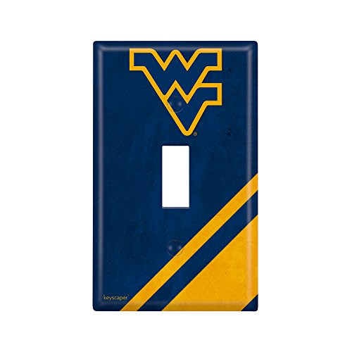 West Virginia Mountaineers Single Toggle Light Switch Cover NCAA