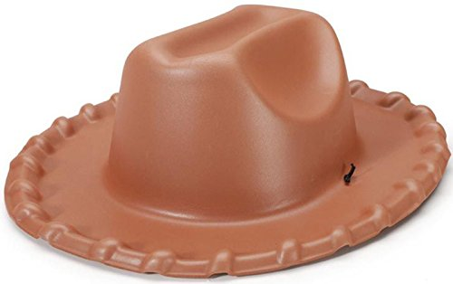 Brown Foam Cowboy Child Hat - One-Size