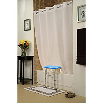 Shower Curtain For Bath Transfer Benches