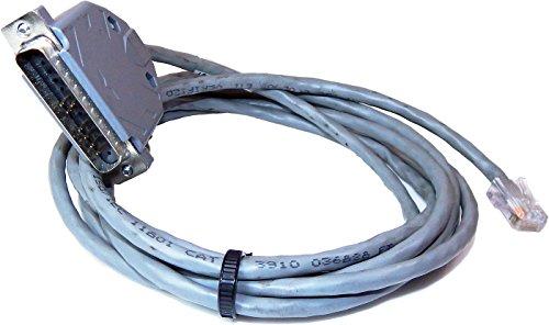 (Cisco Console DB25M to RJ45 Black Cable 72-3663-01)