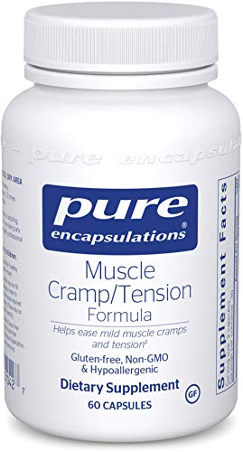 Pure Encapsulations Potassium - Pure Encapsulations - Muscle Cramp/Tension Formula - Hypoallergenic Supplement to Reduce Occasional Muscle Cramps/Tension and Promote Relaxation* - 60 Capsules