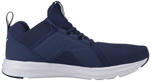Puma Heren Enzo Mesh Sneaker Blue Depths-puma White
