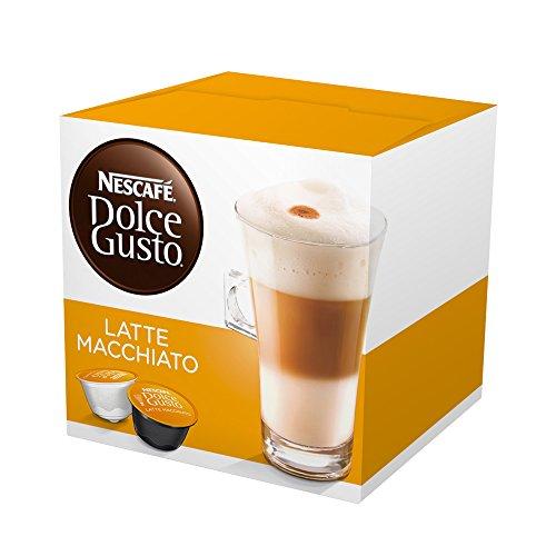 Nescafe Dolce Gusto - Latte Macchiato (16 cápsulas/ 8 Tazas)