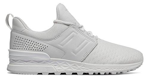 (ニューバランス) New Balance 靴?シューズ レディースライフスタイル 574 Sport Decon White ホワイト US 7 (24cm)